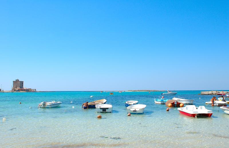 sea a few kilometers