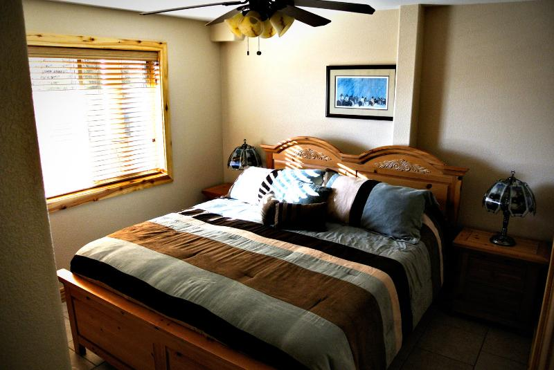 1 of 3 bedrooms, this one is a king size.