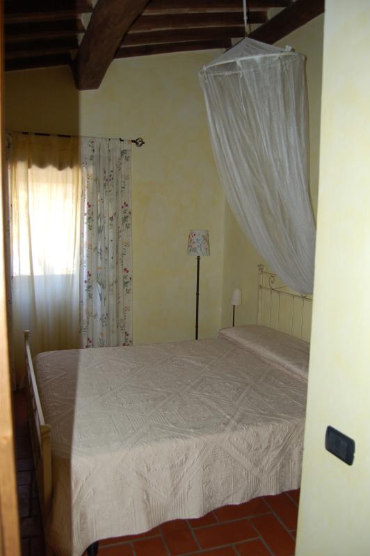 Primo piano: la stanza gialla. Un prato fiorito