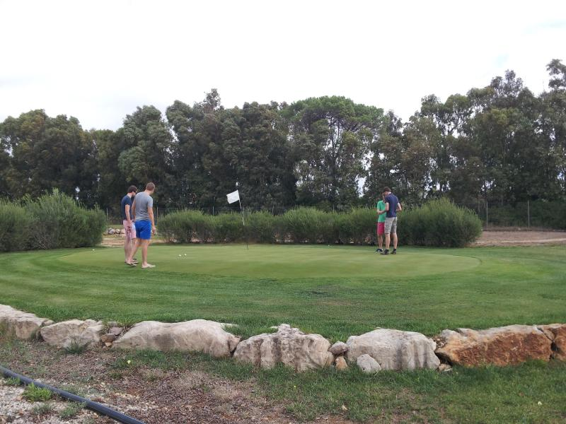 Pitch and Putt at Alghero Golf Club