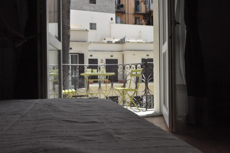 Bedroom 1 & balcony