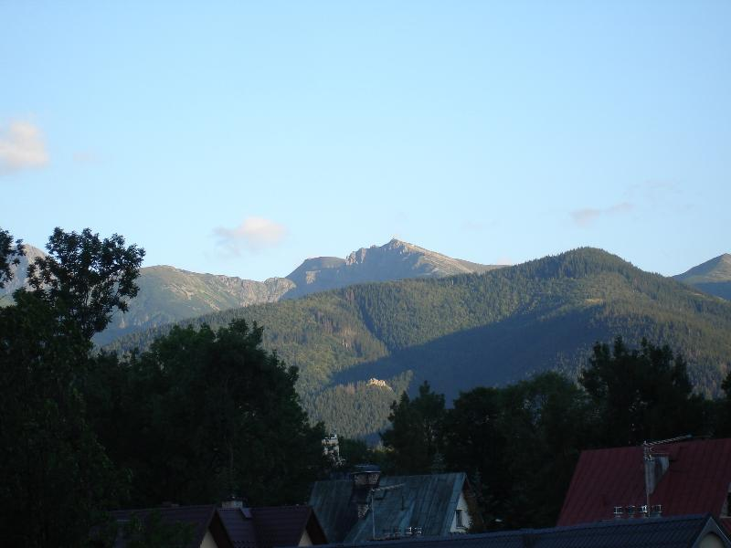 Apartment13.pl - view of the Tatra Mountains from the balcony