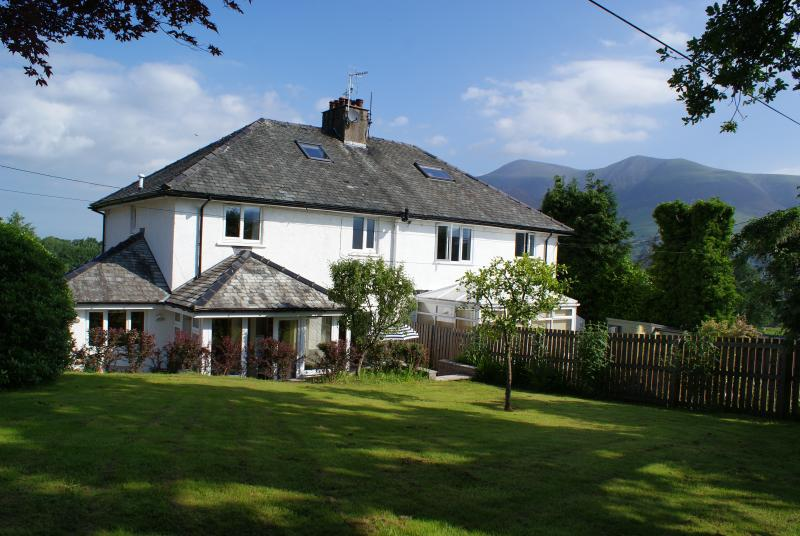 Rear of the Property with Skiddaw in the distance