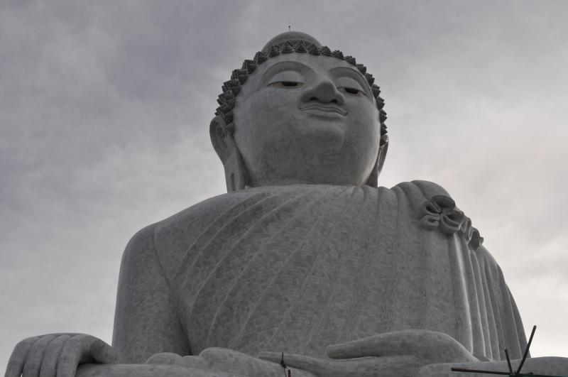 Big Buddha can be seen from KataRoo