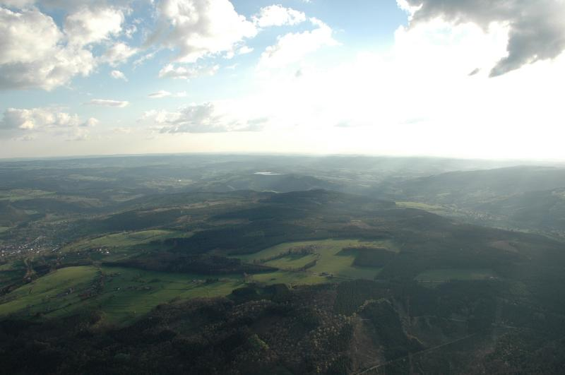notre belle région vue du ciel