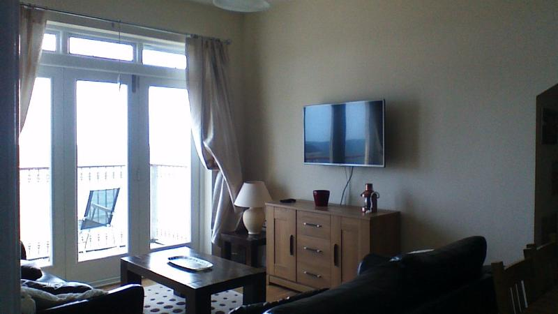 Smart 42' flatscreen with Satellite IF you get fed up with the view!