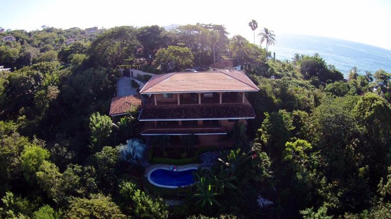 A birds eye view of Casa Mimosa