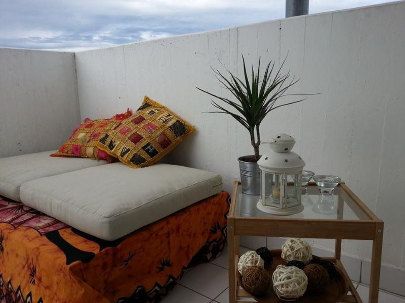 se détendre sur la terrasse