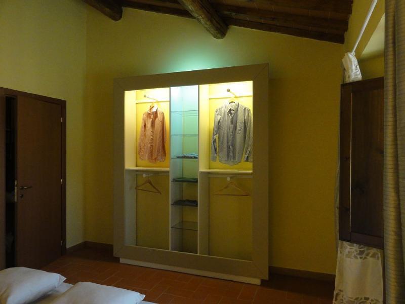 l'armadio della camera principale .. design unico