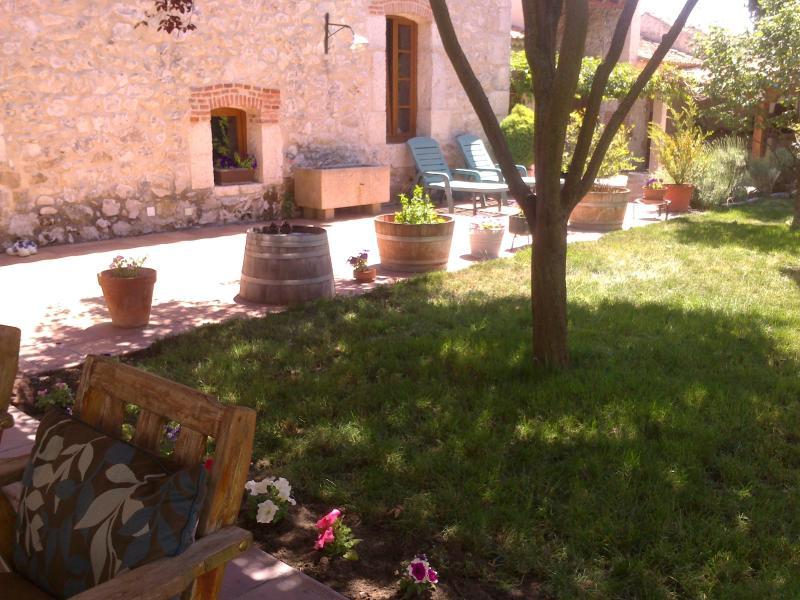 vista jardin interior