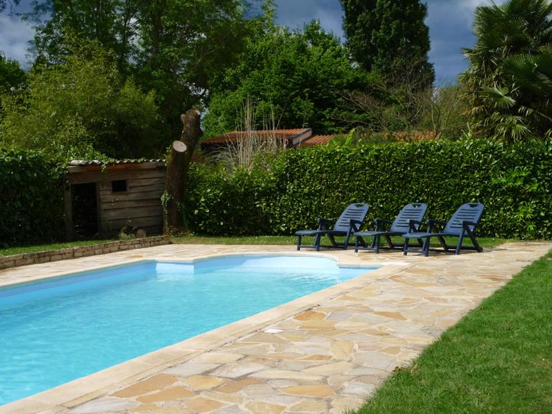 The 10m x 5m Heated Pool at The Cornflowers Holiday Home