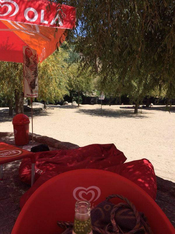 Sao Gemil river beach  - spend a day here - great restaurant and café too!