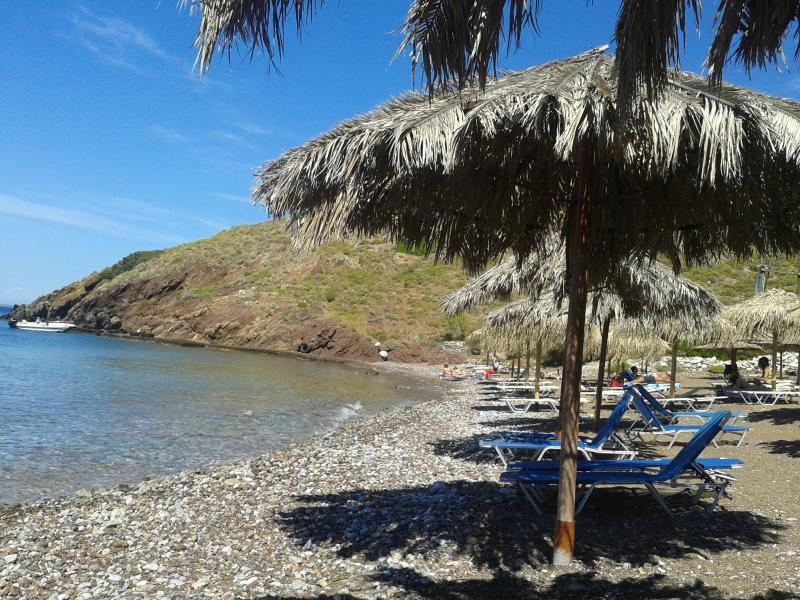 One of the beaches closest to the vila 15 mins walk