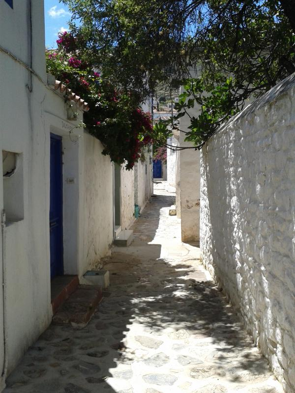 Lovely small streets and white houses everywhere