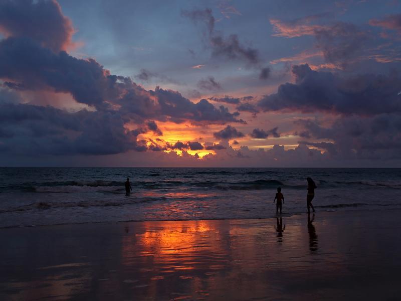 Stunning Karon Beach Sunsets!