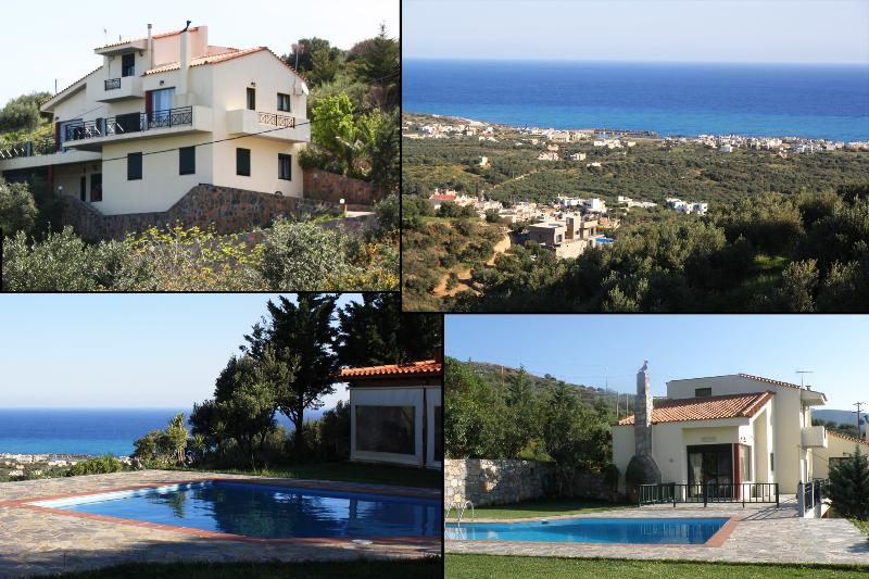 'VILLA ILIOTHEA' PRIVACY STAY -MILATOS - CRETE , LARGE POOL, UP TO 15 PERSONS – semesterbostad i Kreta
