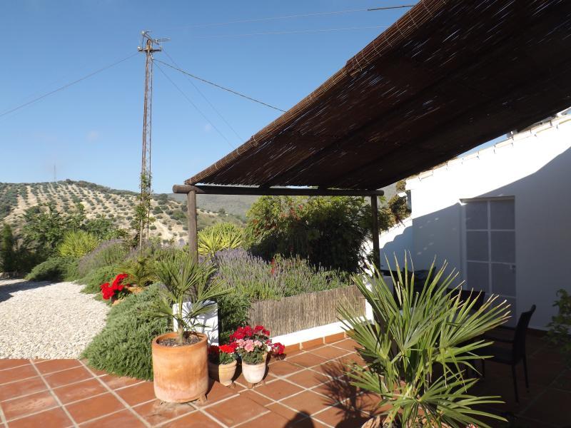 Casita La Almendra private terrace & garden