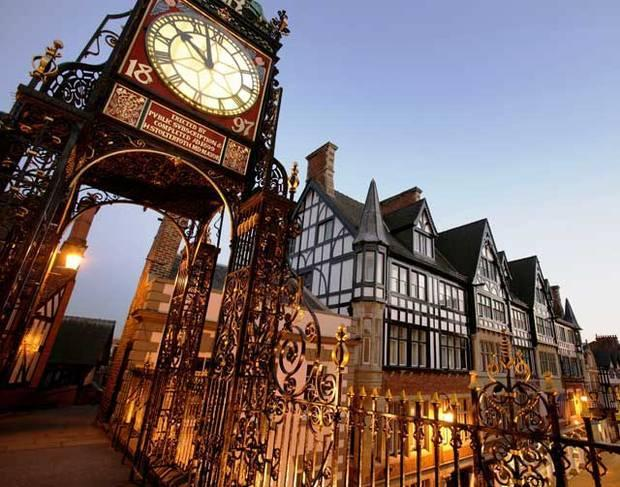The Eastgate Clock (2nd Most photographed clock in the world)