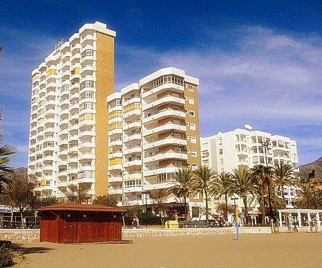 Apartment 93. is to the left of the top, ninth floor, of the shorter beach front block of Ronda 3.