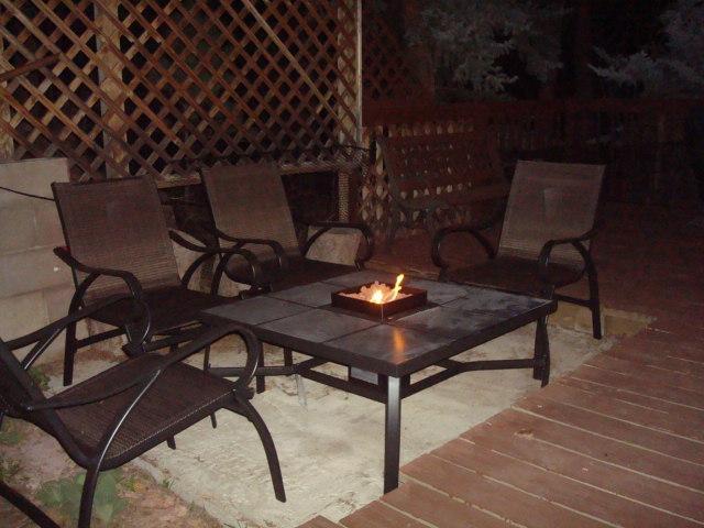 Pozo de fuego es ideal para asar malvaviscos ...