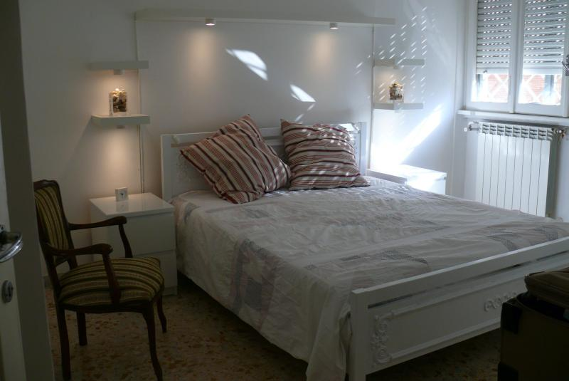 Bedroom with double bed daytime view