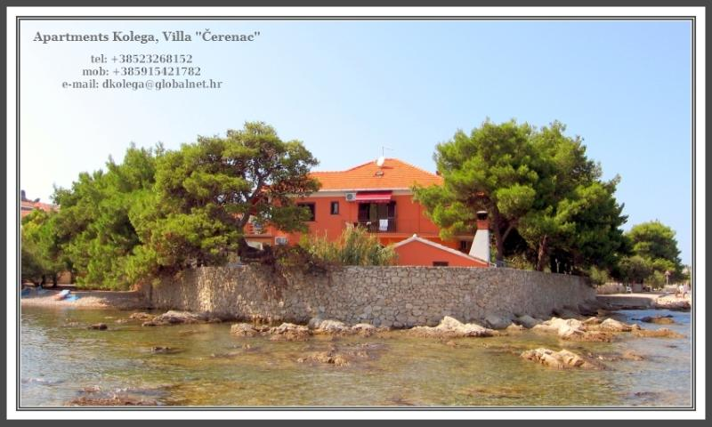 Apartments Kolega, Villa Čerenac - Place where relaxation is all about !, holiday rental in Preko