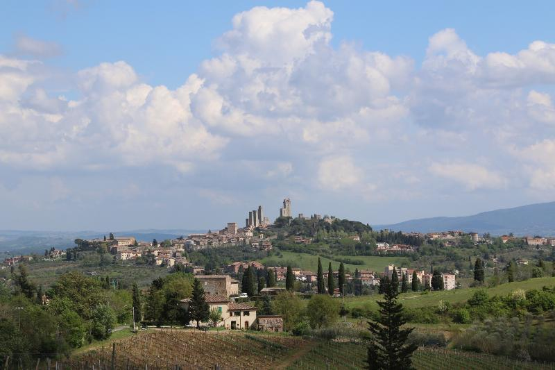 The fabulous skyline of San Gimignano