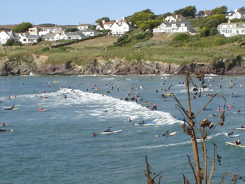 surf at Polzeath
