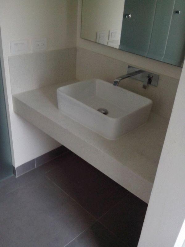 En-suite bathrooms contemporary design with ample closet space
