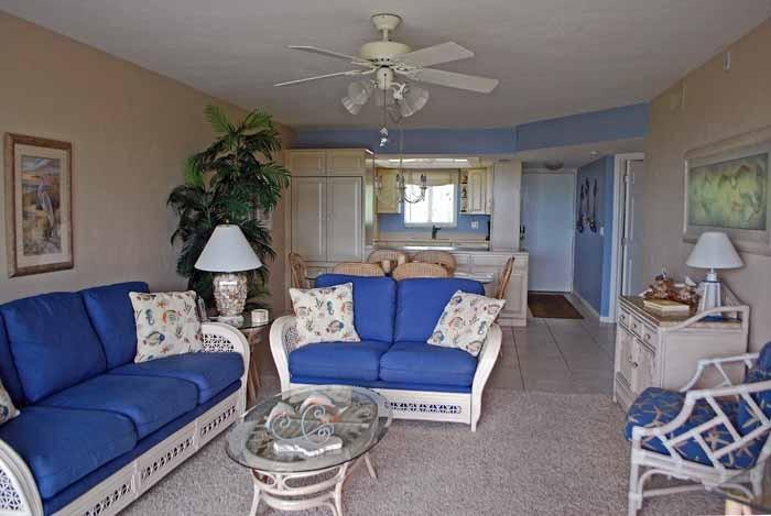Gulf Beach #103 Interior
