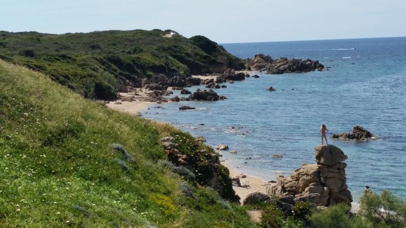 Wild beach nearby (5 minutes walk)
