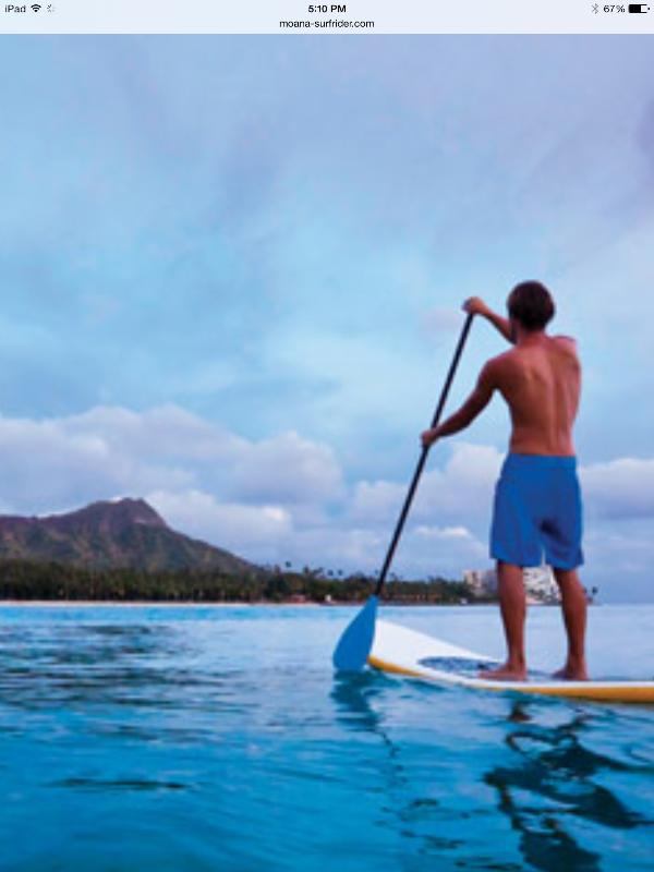 Enjoy some water sports and the views at the beach