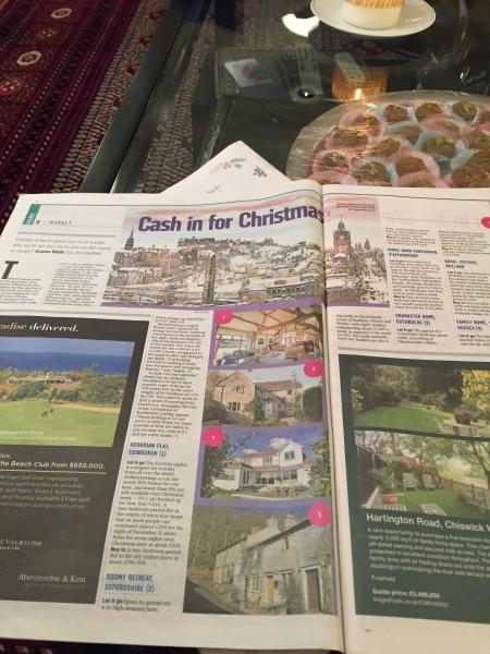 Sunday Times article including Rose cottage