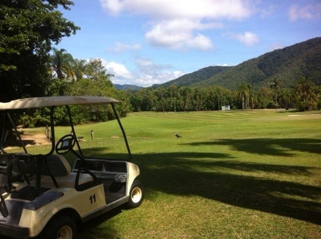 9 hole golf course on site