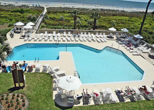 Ocean One 211 - Oceanfront 2nd Floor Condo, vacation rental in Hilton Head