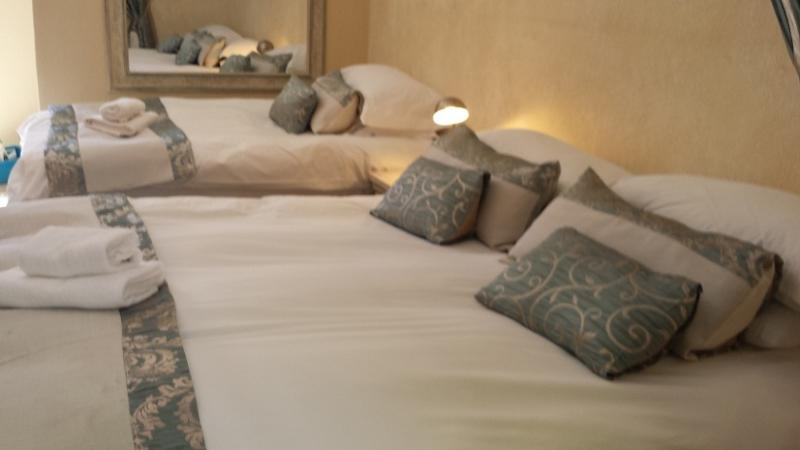 Room 5 1 x Queen size & 1 x single bed