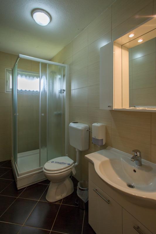 Cuarto de baño en las habitaciones Comodidad