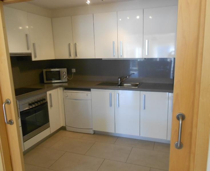 Fully-fitted modern kitchen with all appliances