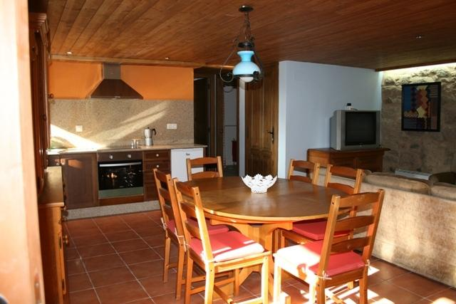 Kitchen and dining room of the House