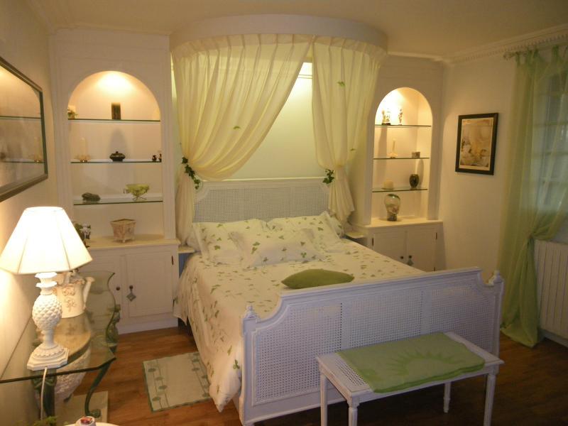 Sweet Home 1 des 3 autres chambres possible à réserver, içi la Suite parentale Verte