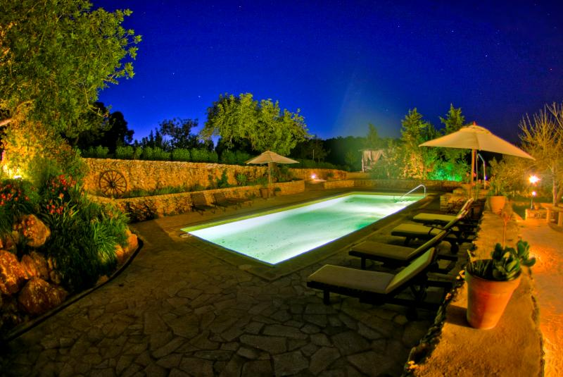 Wouldnt be nice to enjoy the starry nights of Ibiza in this surrounding?