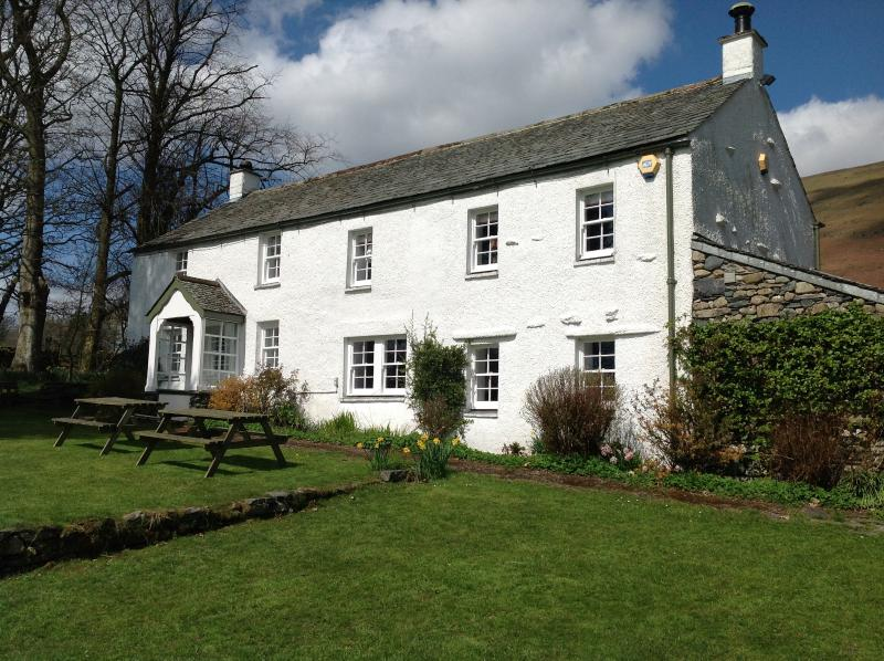 Ings - fine Lakeland farmhouse on the southern aspect of Blencathra