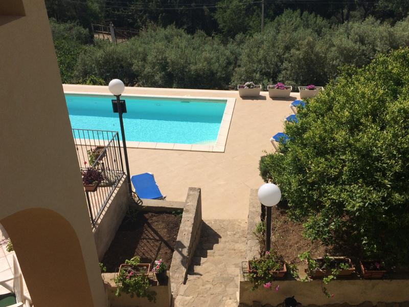 holiday villa with swimming pool in Erice Trapani, vacation rental in Erice
