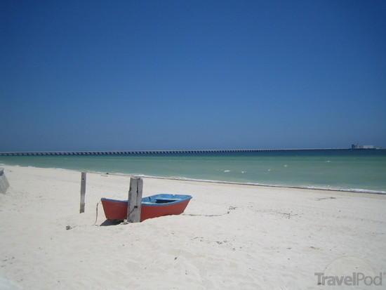 Beach at Progreso