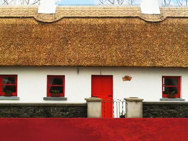 Berties Cottage - a beautifully restored thatch cottage with all mod cons. Close to amenities.