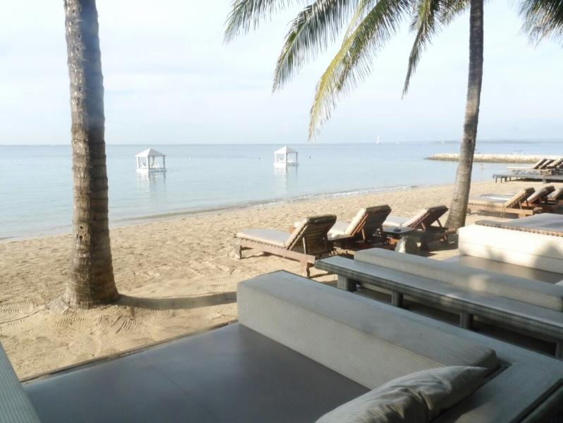 Semawang beach located 400 metres from Exquisito Villa