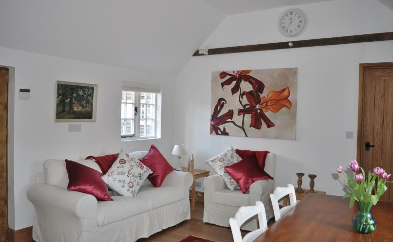Dairy Cottage - Open plan living area