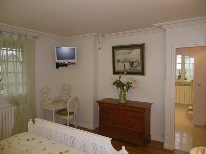 Sweet Home Green-Eltern-Suite, Blick aus dem Zimmer