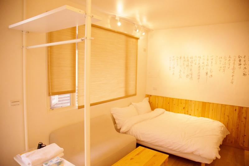 Loft Hostel-Room 3A (宜蘭羅東夜市樂福民宿-雙人套房3A), Ferienwohnung in Luodong