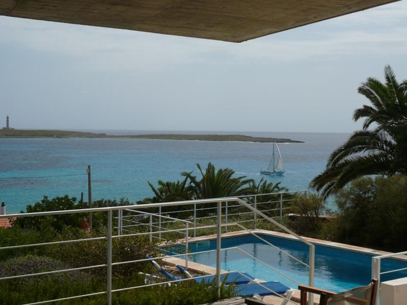 Villa Punta Prima with Private Pool & Sea Views close to Punta Prima Beach, holiday rental in Biniancolla